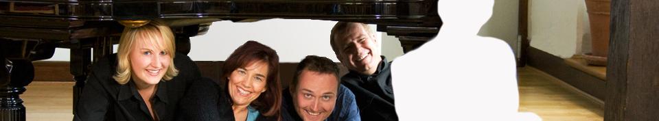 Das Quintett BlueNotes im Schloß Erwitte - Foto: Willy Löster