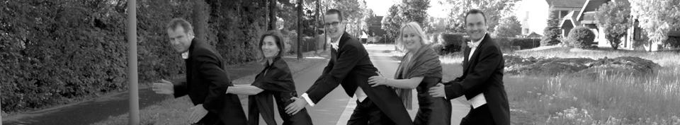 Das Quintett BlueNotes - Foto: Willy Löster